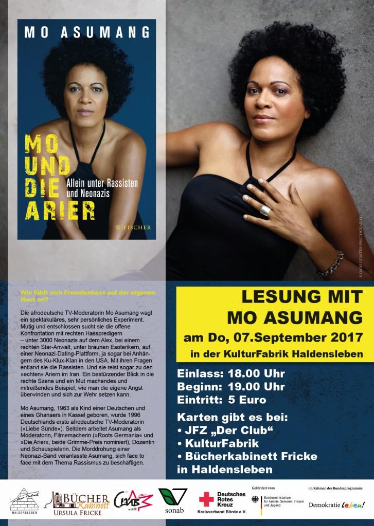 Plakat Mo Asumang